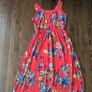 Speed Control Floral Coral XL Women's Dress